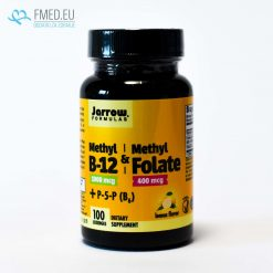 Vitamins B12, B9, B6 in active form