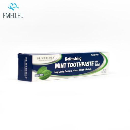 dr mercola naravna zobna pasta s tulsi