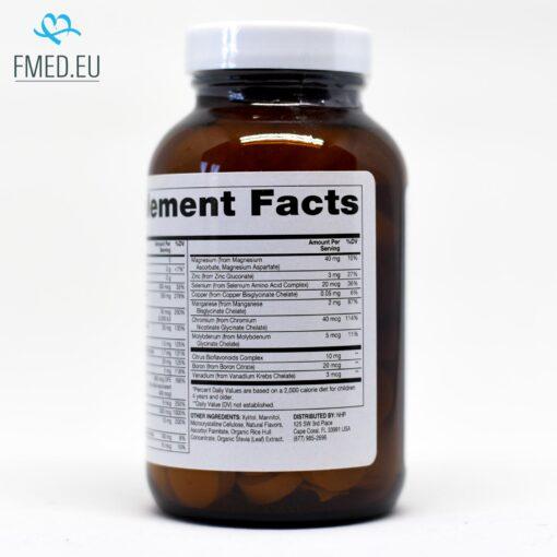 multi vitamin mineral žvečljiv za otroke