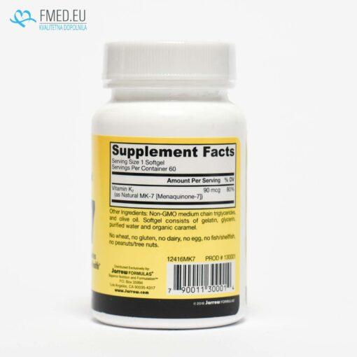 Vitamin K2, MK-7, osteoporoza