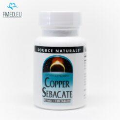 Copper Sebacate immune system inflammation antioxidant